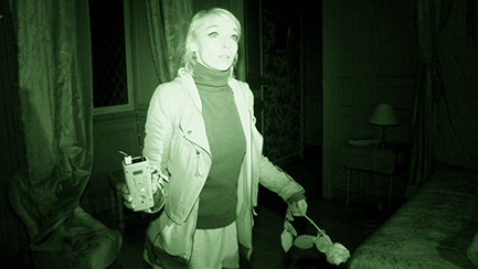 Sandy Lakdar, Castle, Château puymartin, the believers, photo, paranormal, enquête,