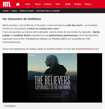 RTL, radio, the believers, article, presse, média,