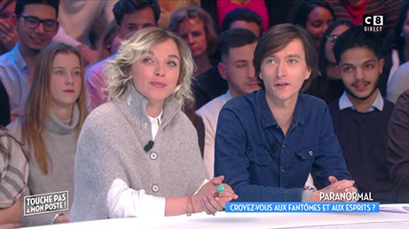 Touche pas à mon poste, tpmp, the believers, sandy lakdar, jonathan dailler, paranormal, c8, tv,