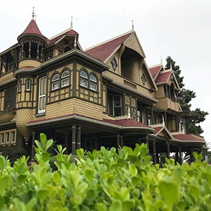 maison Winchester, Winchester house, sarah Winchester, fantôme, ghost, esprit, article, gazette, sandy lakdar, paranormal, Winchester Mystery Ho